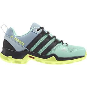 adidas TERREX AX2R Hiking Shoes Lightweight Kids, clemin/carbon/hi-res yellow